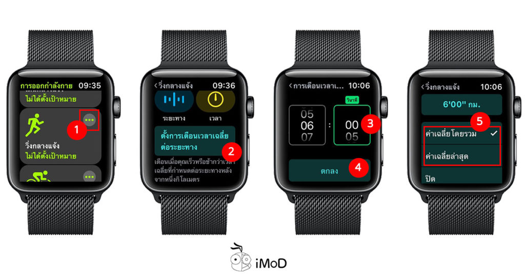How To Set Pace Alert Watchos 5 1