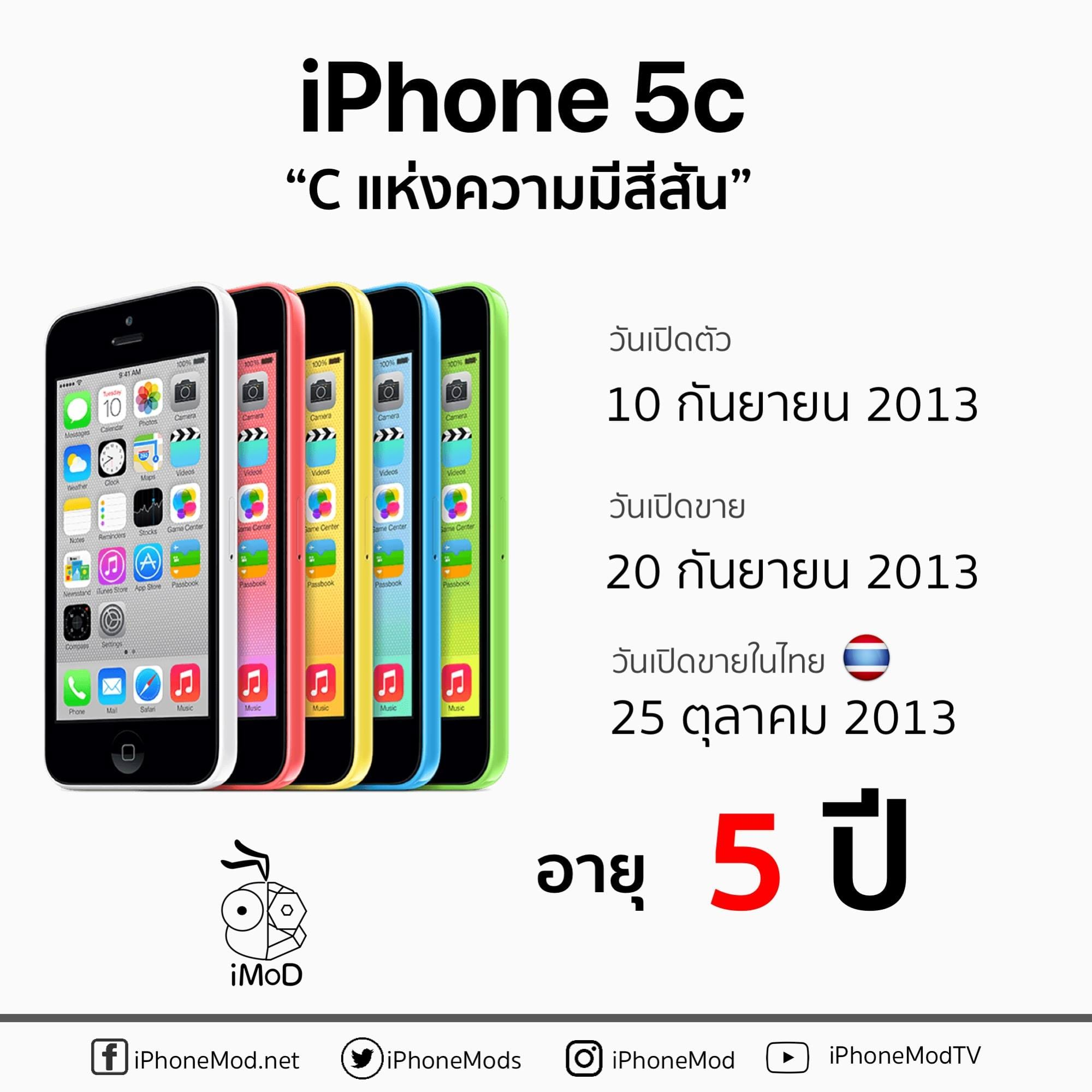 Iphone 5c Launch Thailand