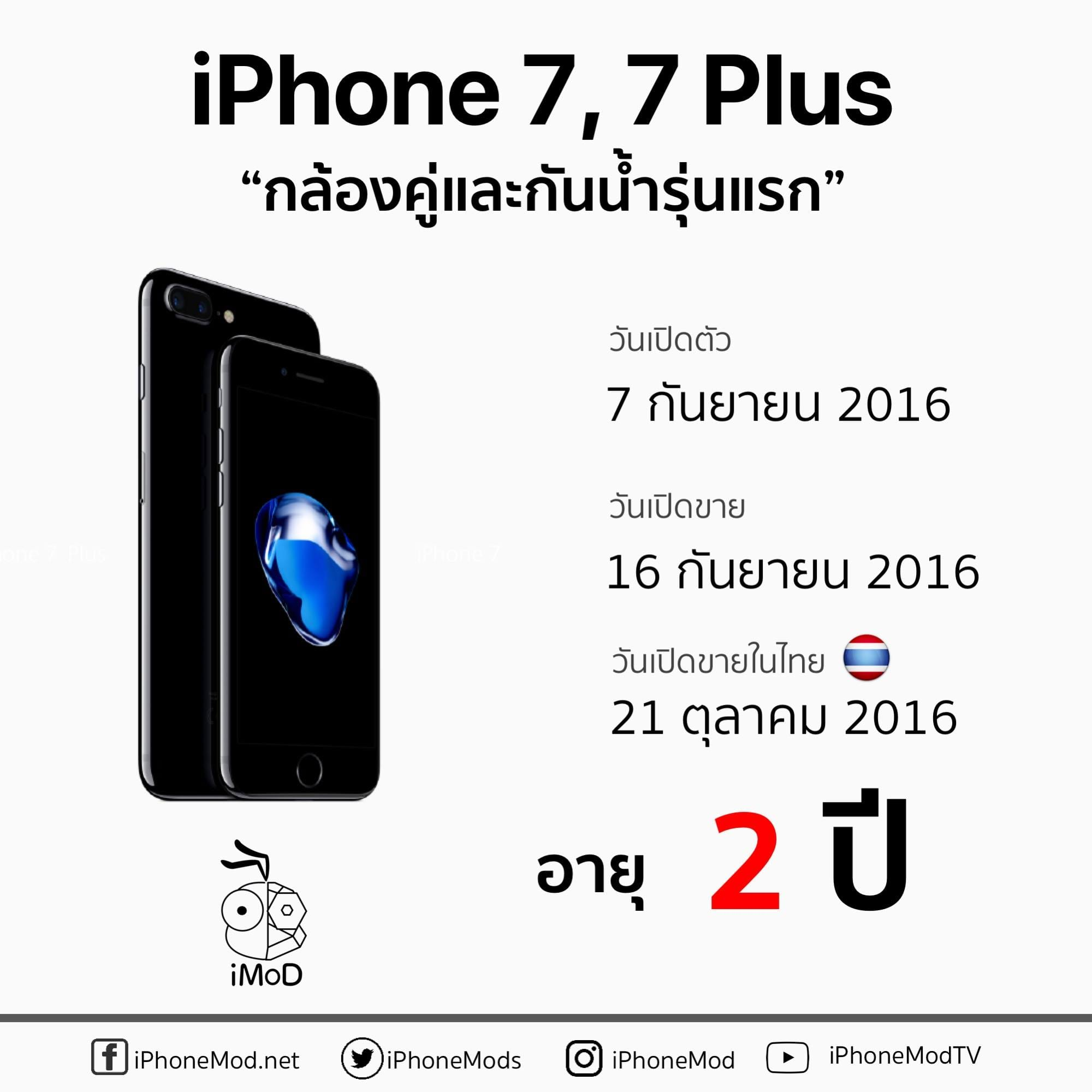 Iphone 7 Launch Thailand