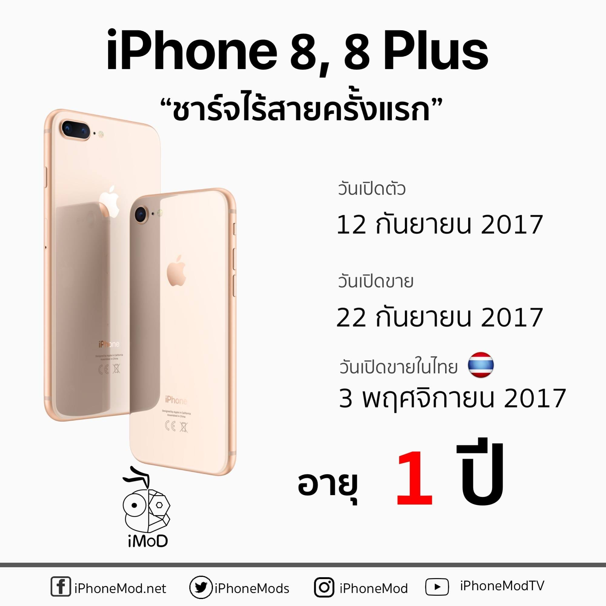 Iphone 8 Launch Thailand