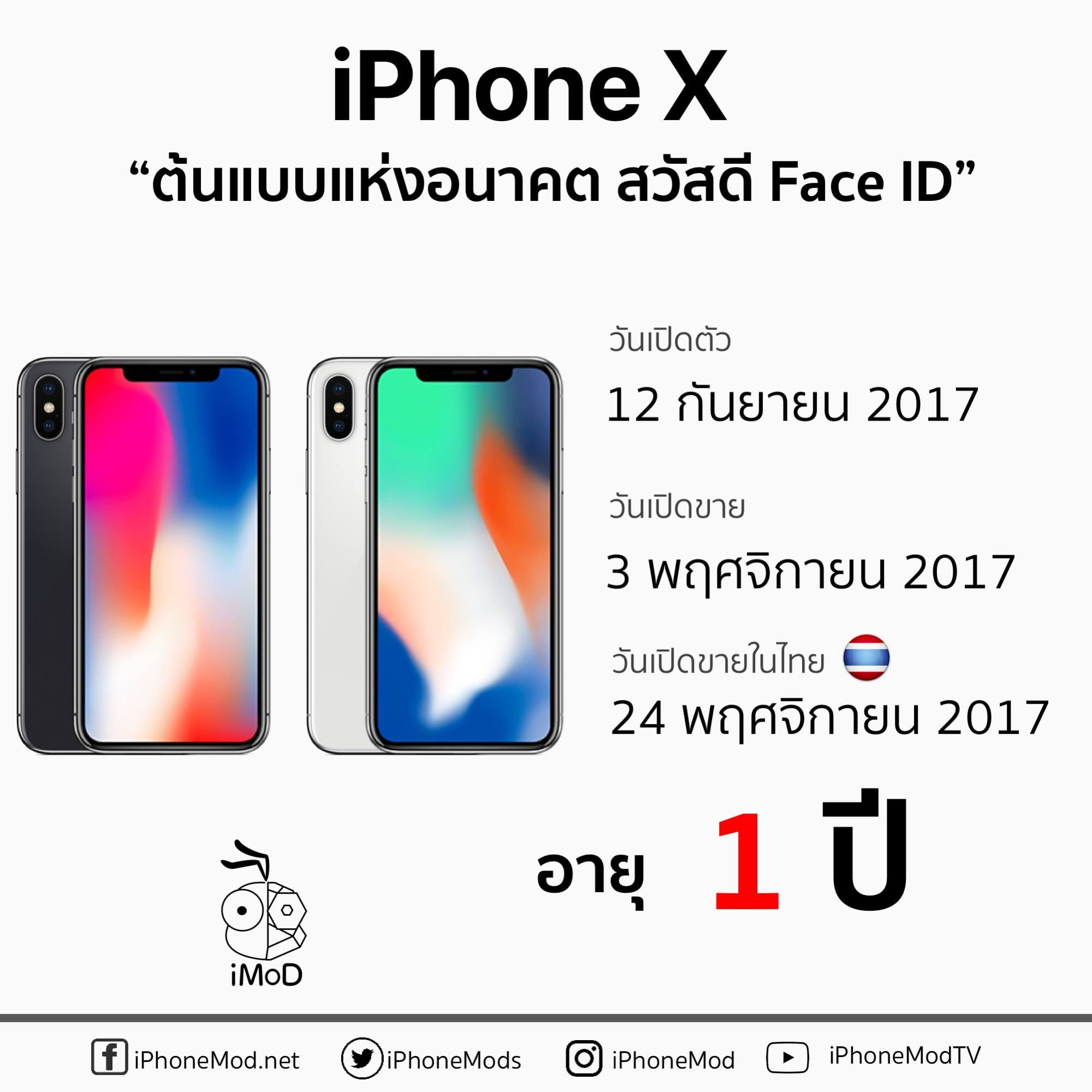Iphone X Launch Thailand