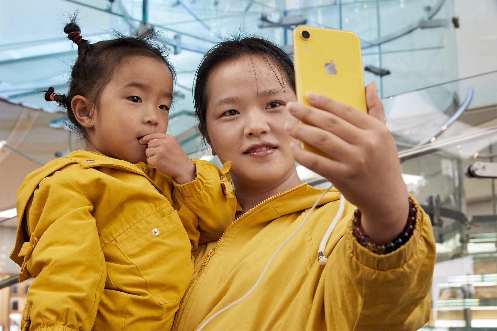 Iphonexr Launch Wangfujing Beijing Matching Yellow 10262018