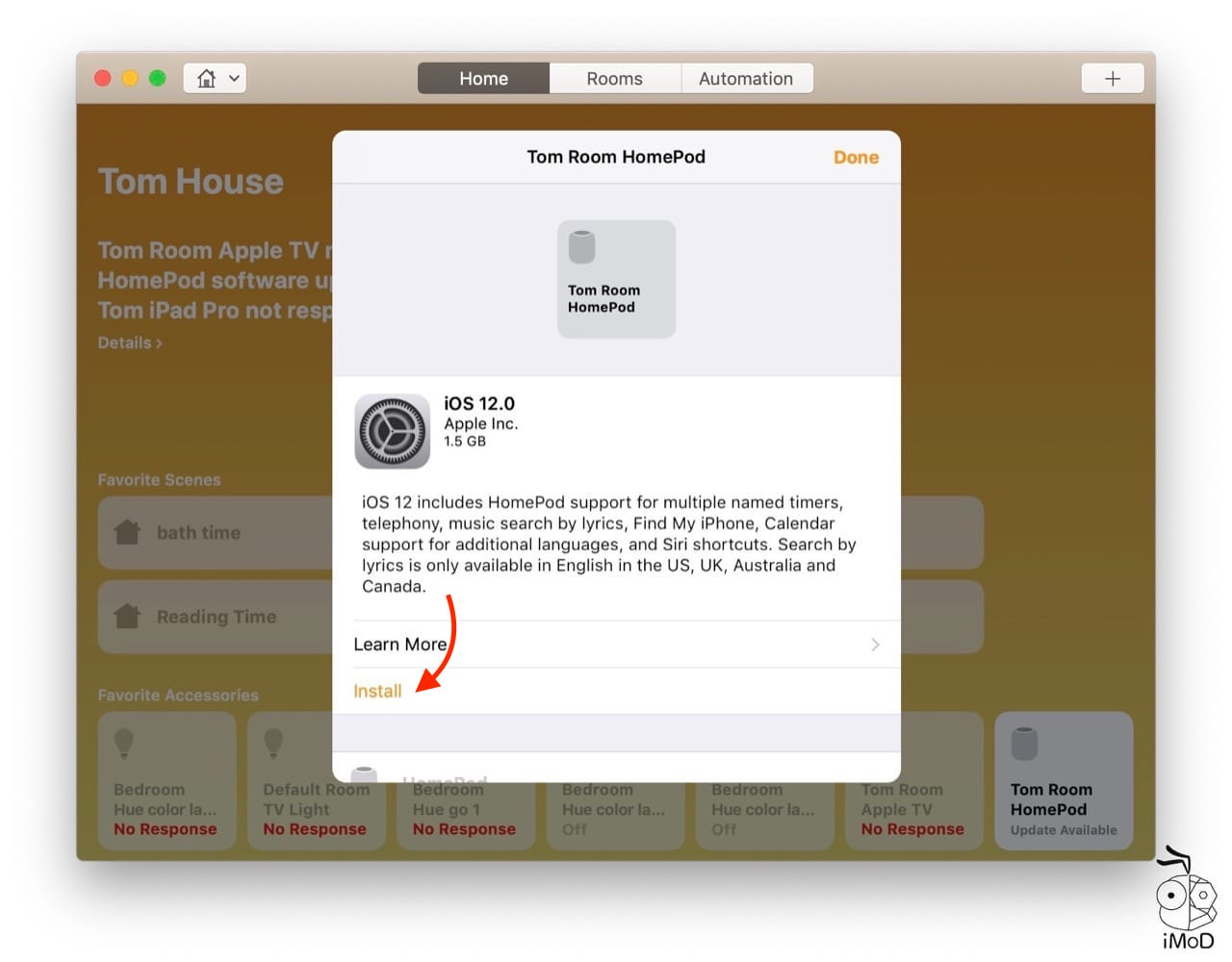 Install Macos Mojave Update Ios 12 Homepod Via Mac 5