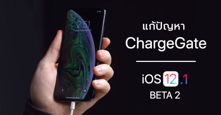 Ios 12 1 Developer Beta 2 Fix Chargegate