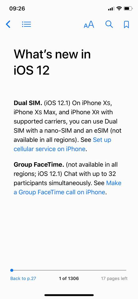 Ios 12 1 User Guide More New Feature Img 1