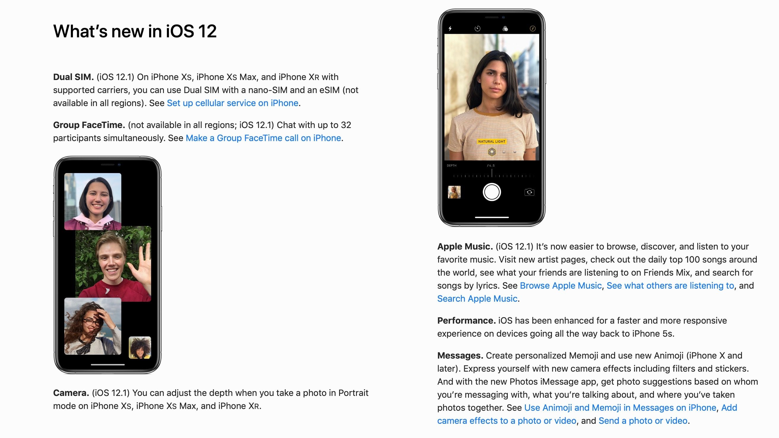 Ios 12 1 User Guide More New Feature Img 2