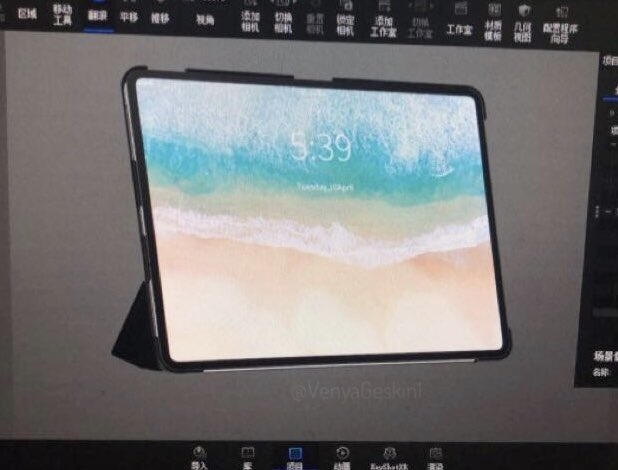 Ipad Pro 2018 Render Benjamin Gaskin 1