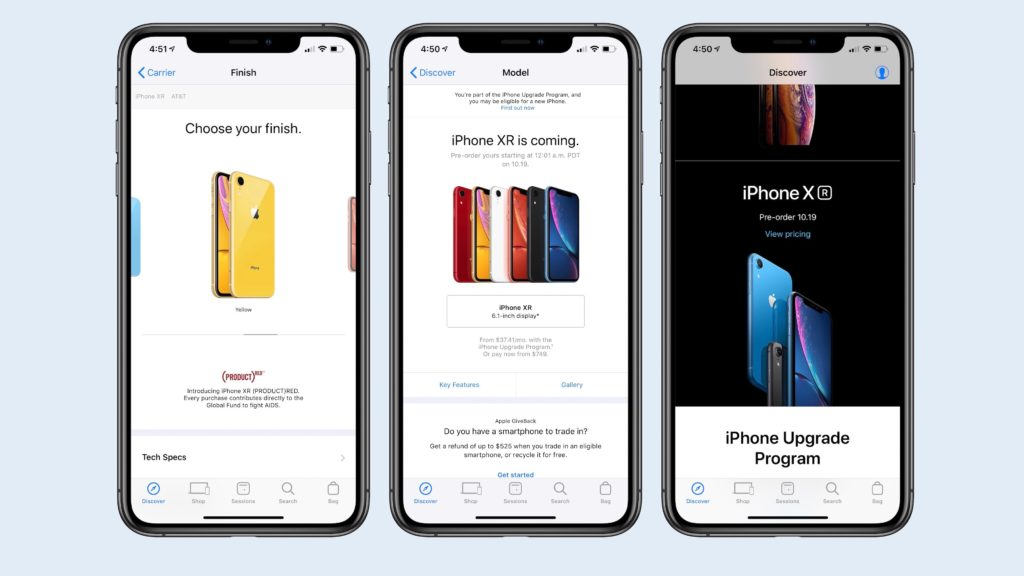 Iphone Xr Apple Store App Pre Order Siri Shortcut 1