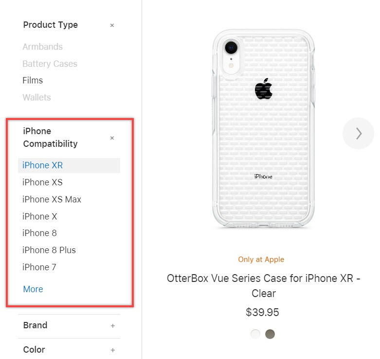 Iphone Xr Case Not Appear Apple Store Img 2