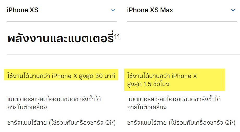 Iphone Xs Iphone Xs Max Battery Longer Than Iphone X Img 1