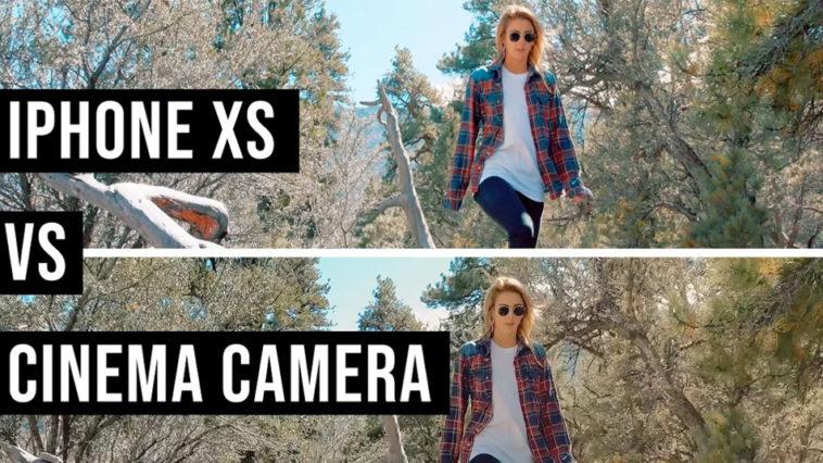 Iphone Xs Max Cinema Camera Video Compare