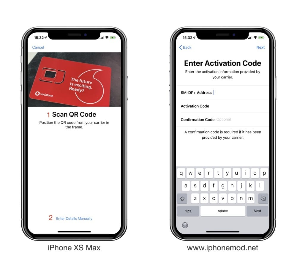 Iphone Xs Max Esim Activation 02
