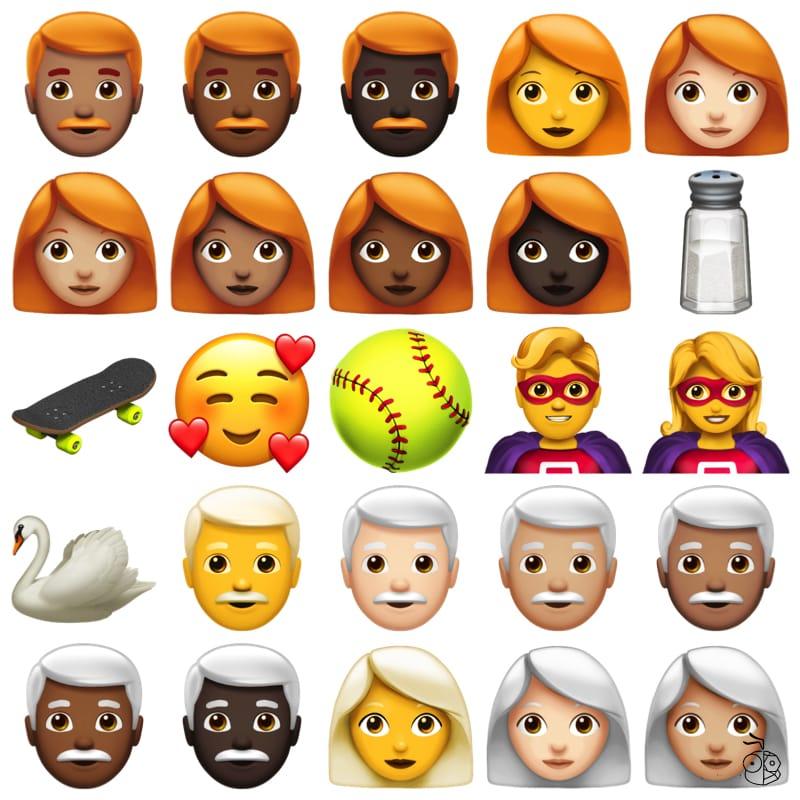 New Emoji Ios 12.1 03