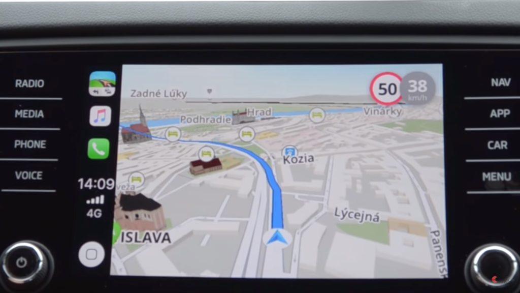 Sygic Support Apple Carplay 1
