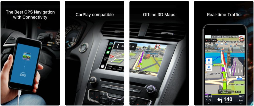 Sygic Support Apple Carplay 3