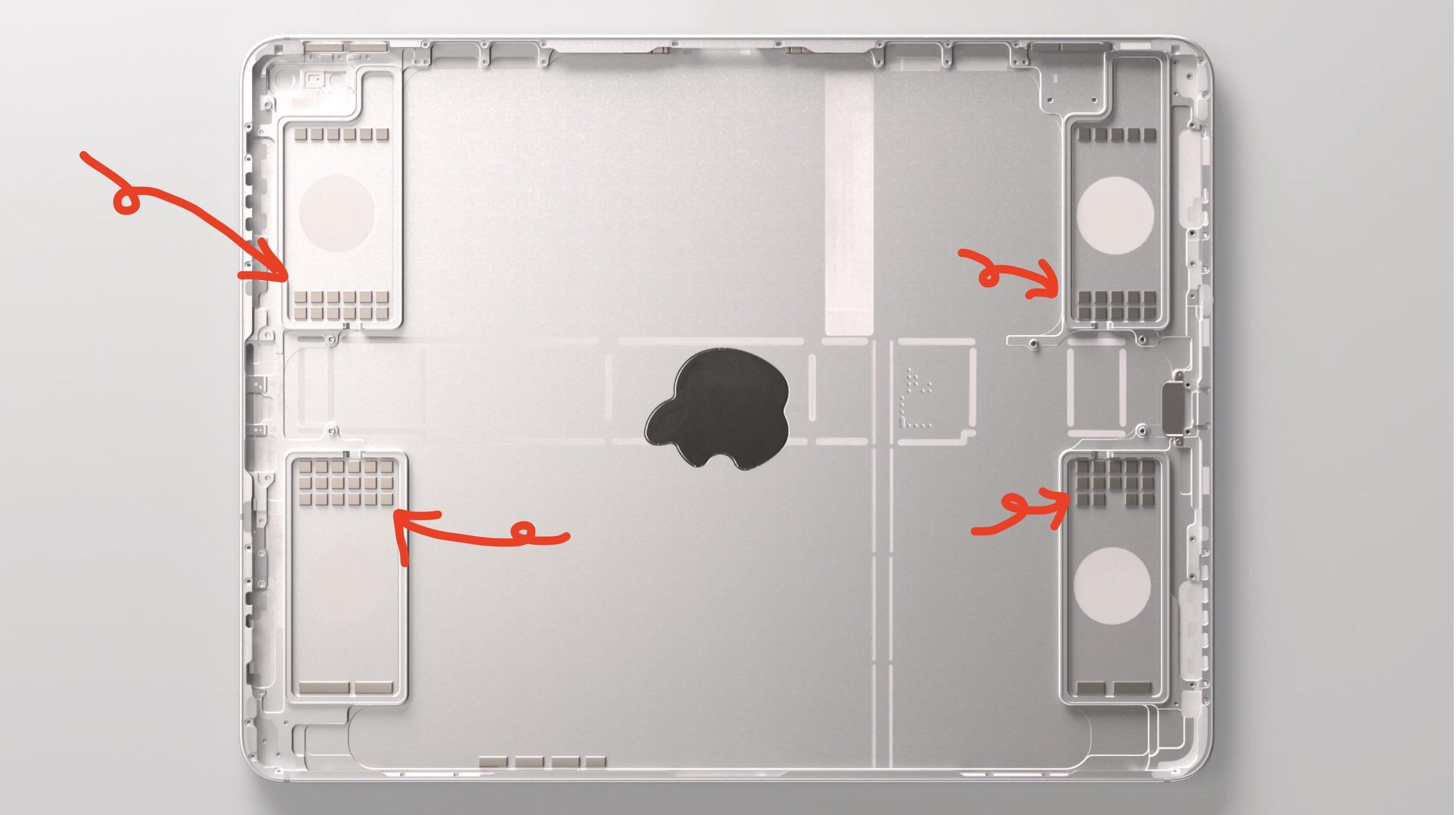 102 Magnet Ipad Pro 2018