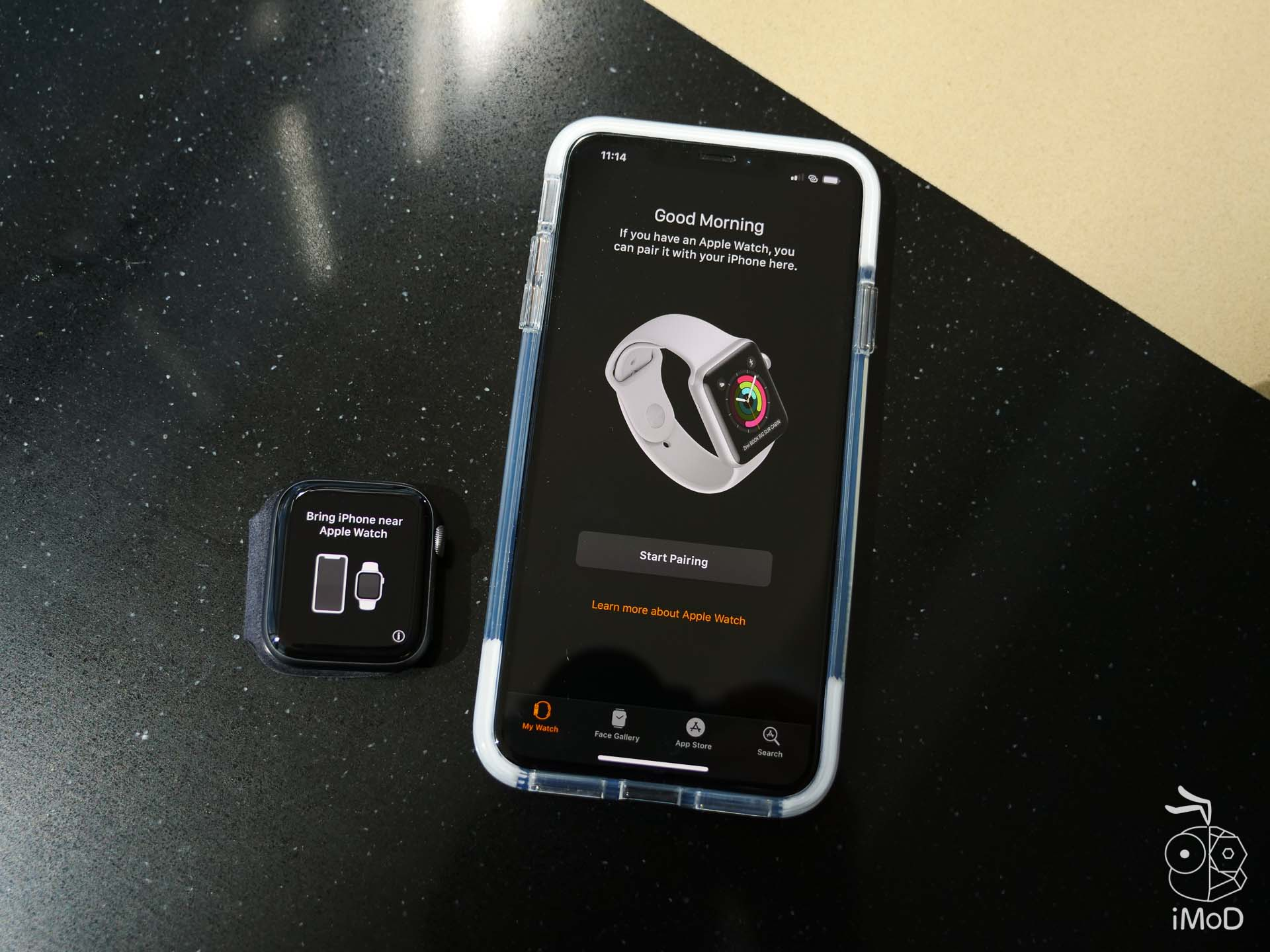 Apple Watch Series 4 Cellular Aluminium Unbox 1177084