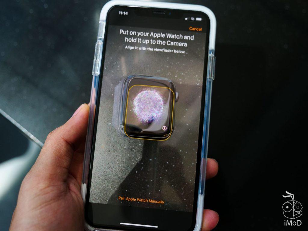 Apple Watch Series 4 Cellular Aluminium Unbox 1177086
