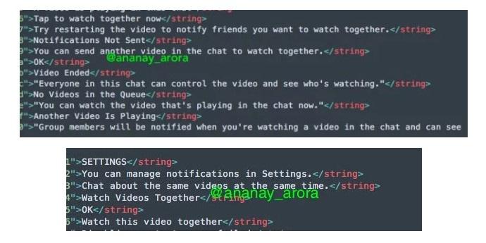 Facebook Messenger Watch Party 1