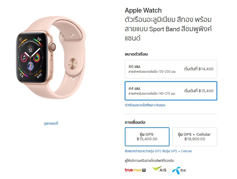 Apple Watch Series 4 Sell Order Thai 1