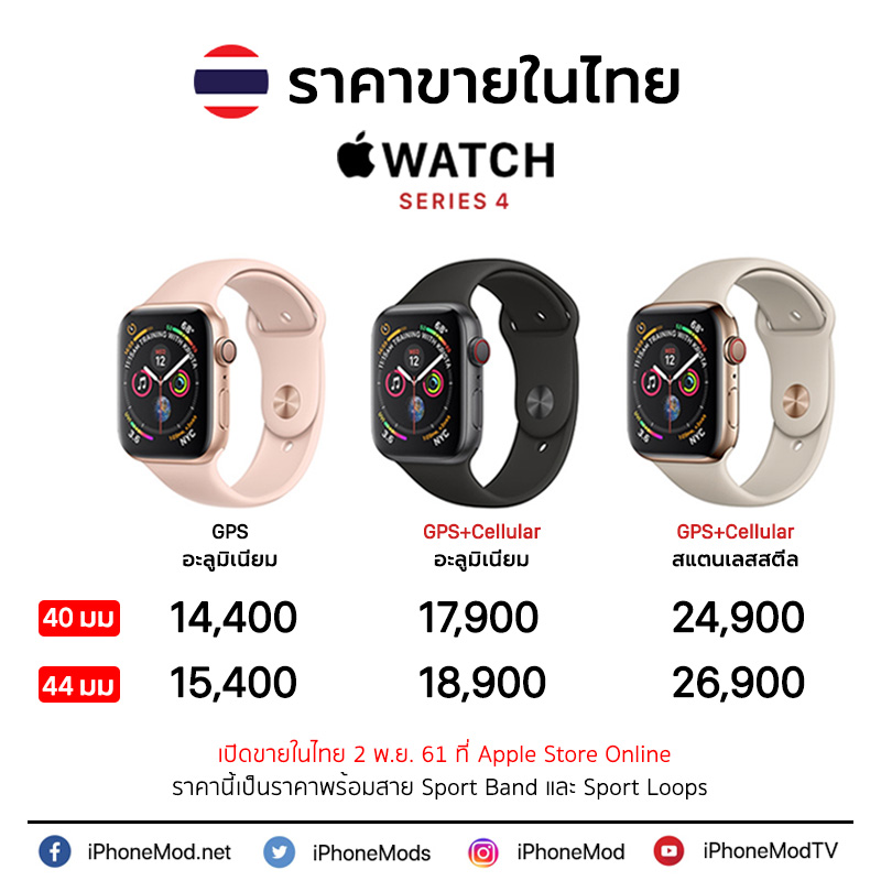 Apple Watch Thai Price