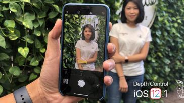 Depth Control Iphone Xs Iphone Xr Ios 12 1 Preview Cover