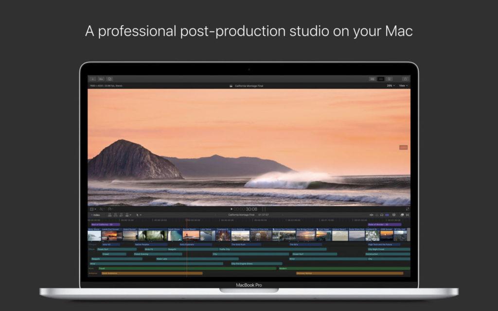 Apple ออกอัปเดต Final Cut Pro X ครั้งใหญ่ เพิ่มฟีเจอร์ใหม่