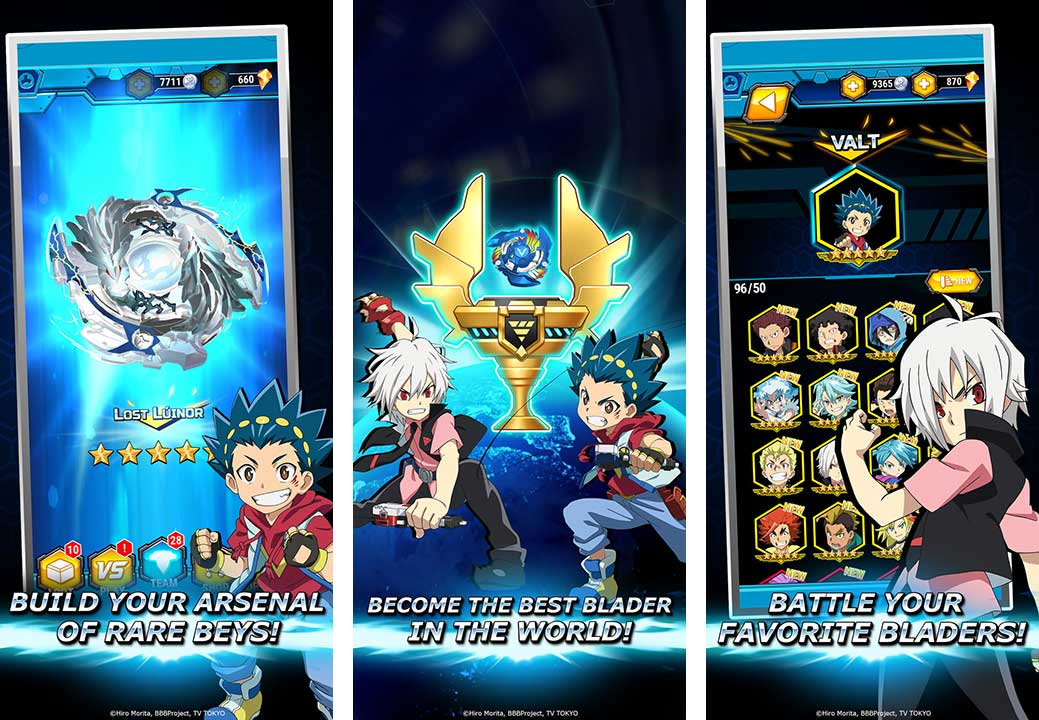 Game Beyblade Burst Rivals Content3
