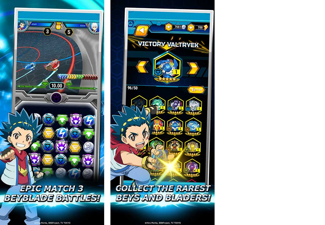 Game Beyblade Burst Rivals Content4