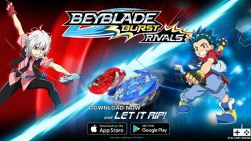 Game Beyblade Burst Rivals Cover