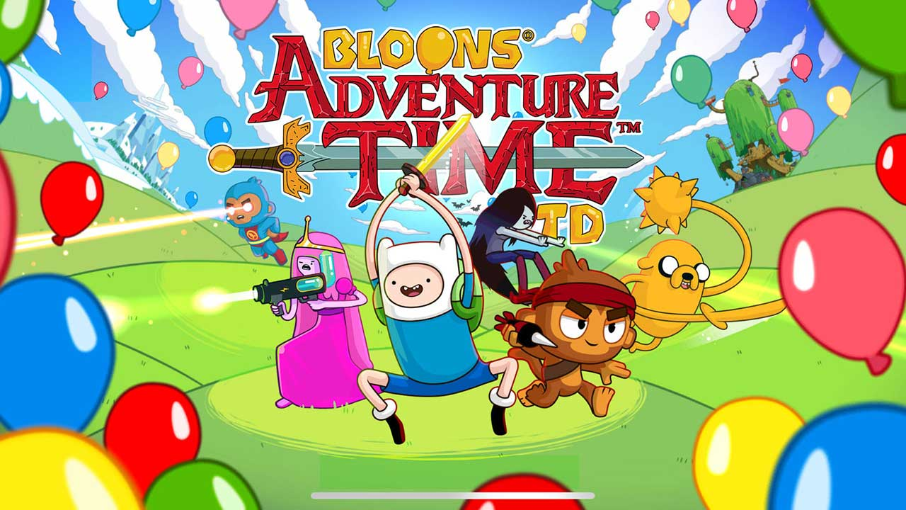Game Bloons Adventure Time Td Cover