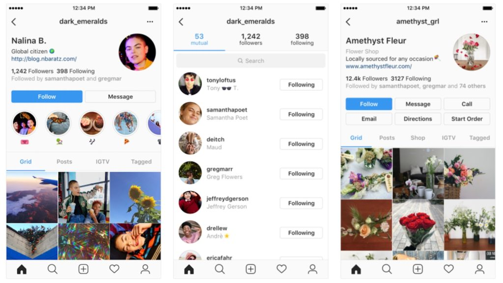 Instagram Redesign Profile Annouce 1