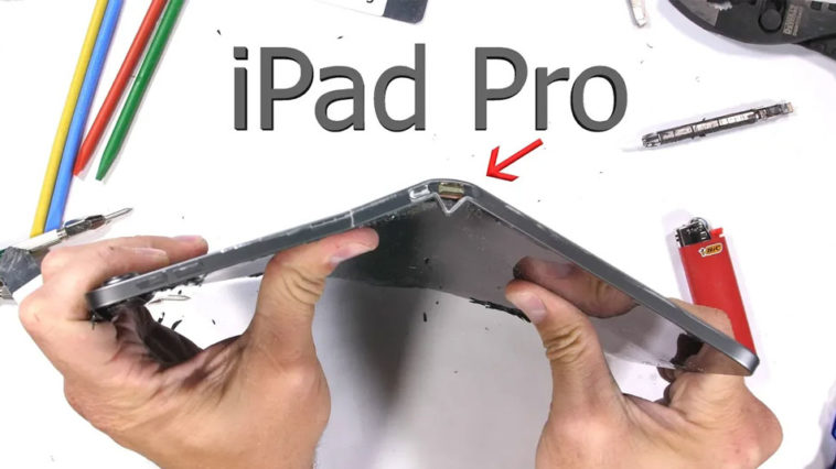 Ipad Pro 2018 Easy To Bend