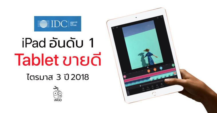 Ipad Top Tablet Shipment Q3 2018 Idc Report