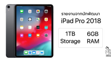 Ipadpro 2018 Ram 6gb 1tb Model Report