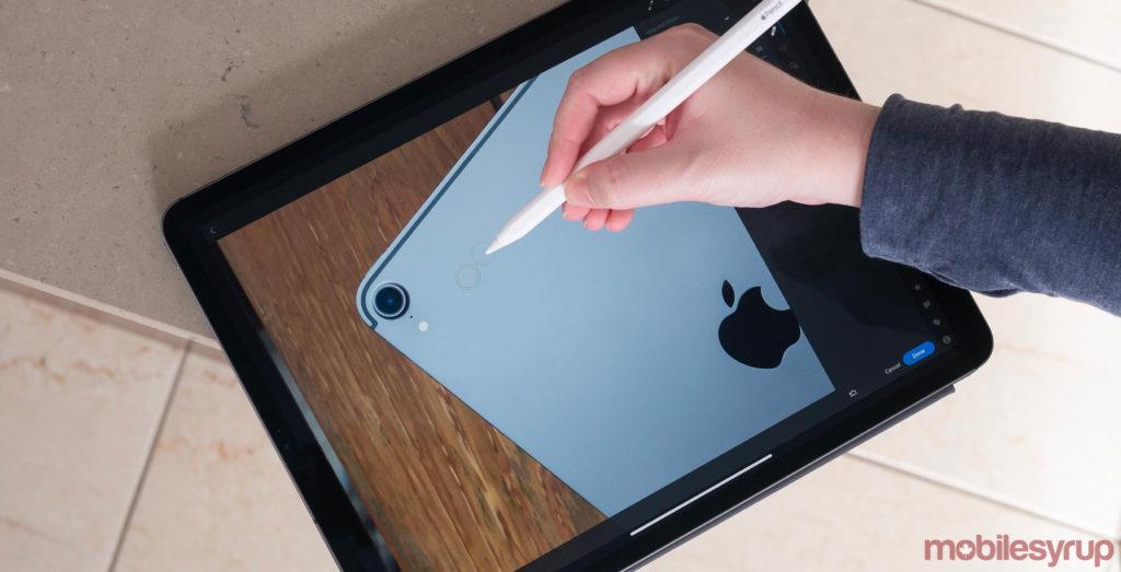 Lightroom Cc Support Ipad Pro Apple Pencil 2018