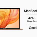 Macbook Air 2018 Geekbench Report Cover