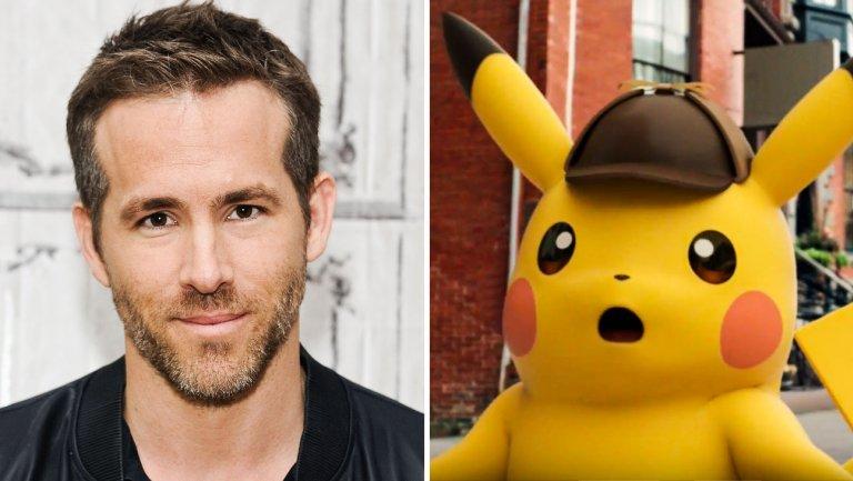 Pokemon Detective Pikachu Banner Ryan Reynolds