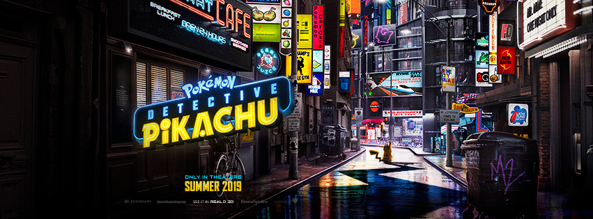 Pokemon Detective Pikachu Banner