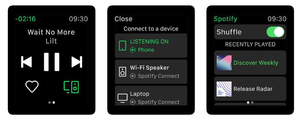 Spotify Release For Apple Watch 2