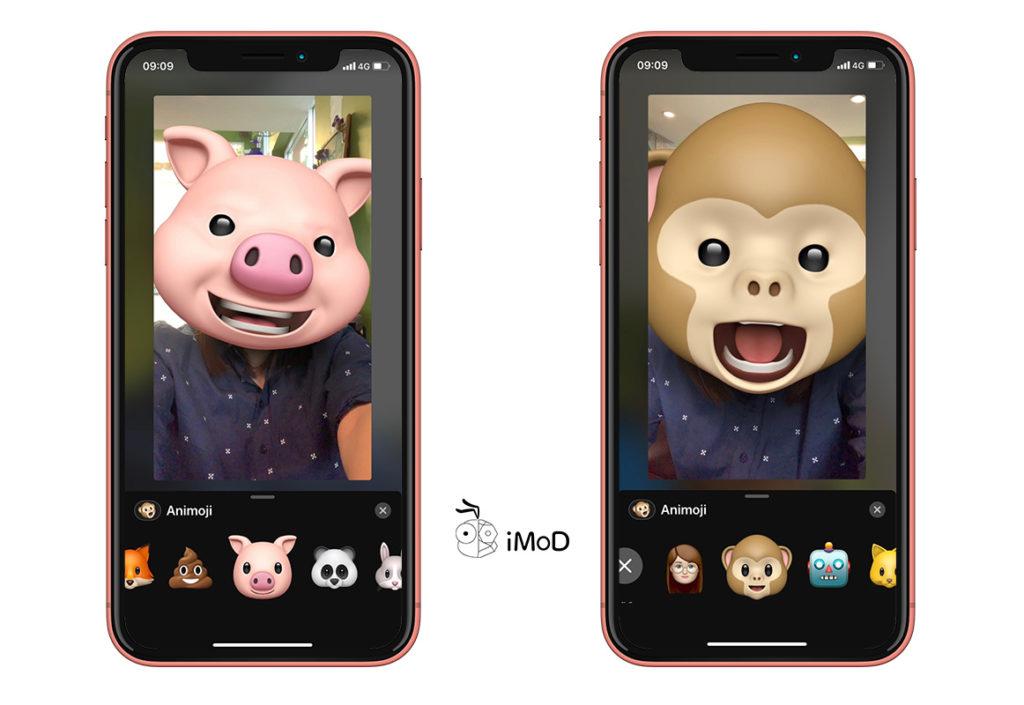 Video Facetime Use Memoji And Animogi Ios 12 Iphone X 3