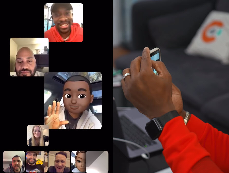 Youtuber 30 Preson Group Facetime Img 2