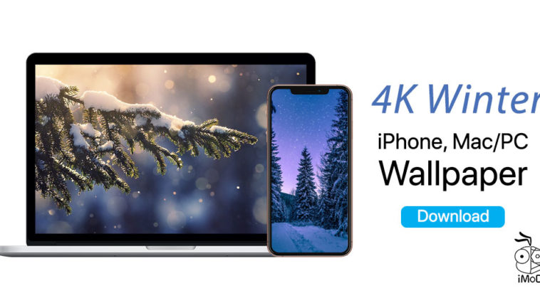 4k Winter Iphone Ipad Mac Pc Wallpaper