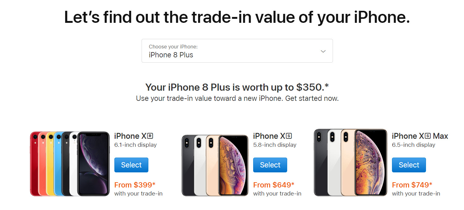 Apple Expands Iphone Xs Xr Trade In Many Countries Img 2