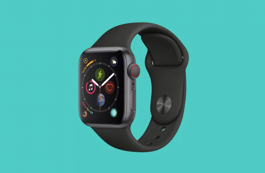 Apple Watch Series 4 Time