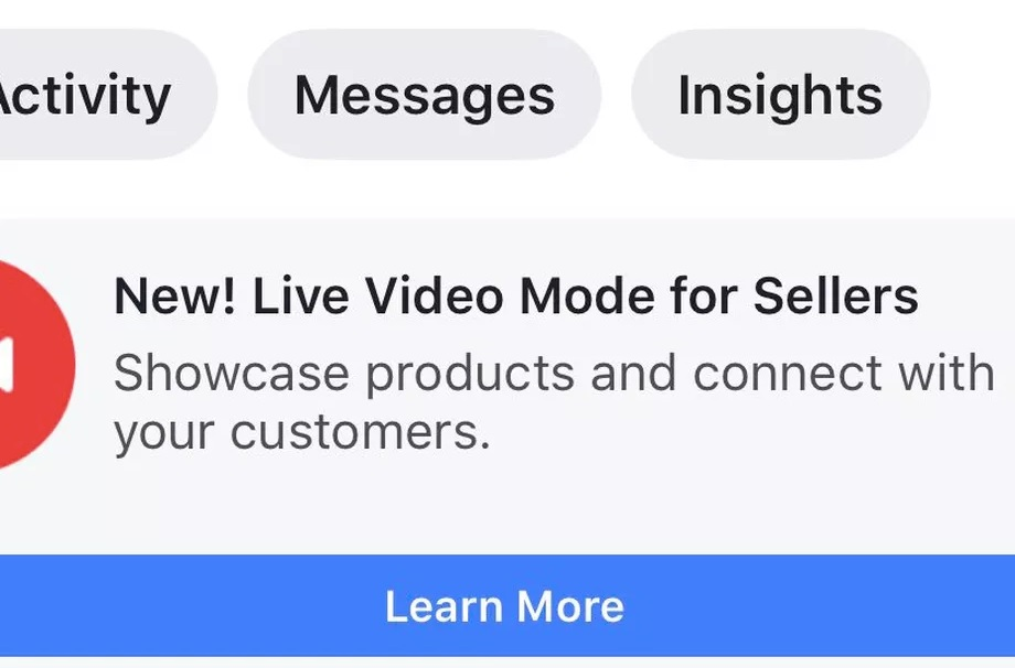 Facebook Testing Shopping Mode Live Stream In Thailand 2