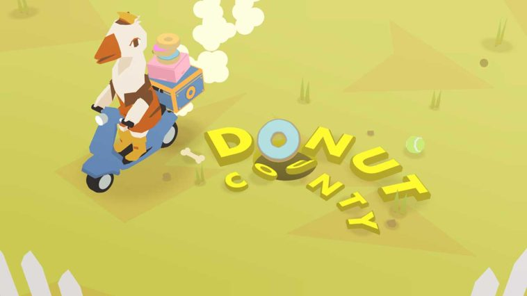 Game Donut County Cover