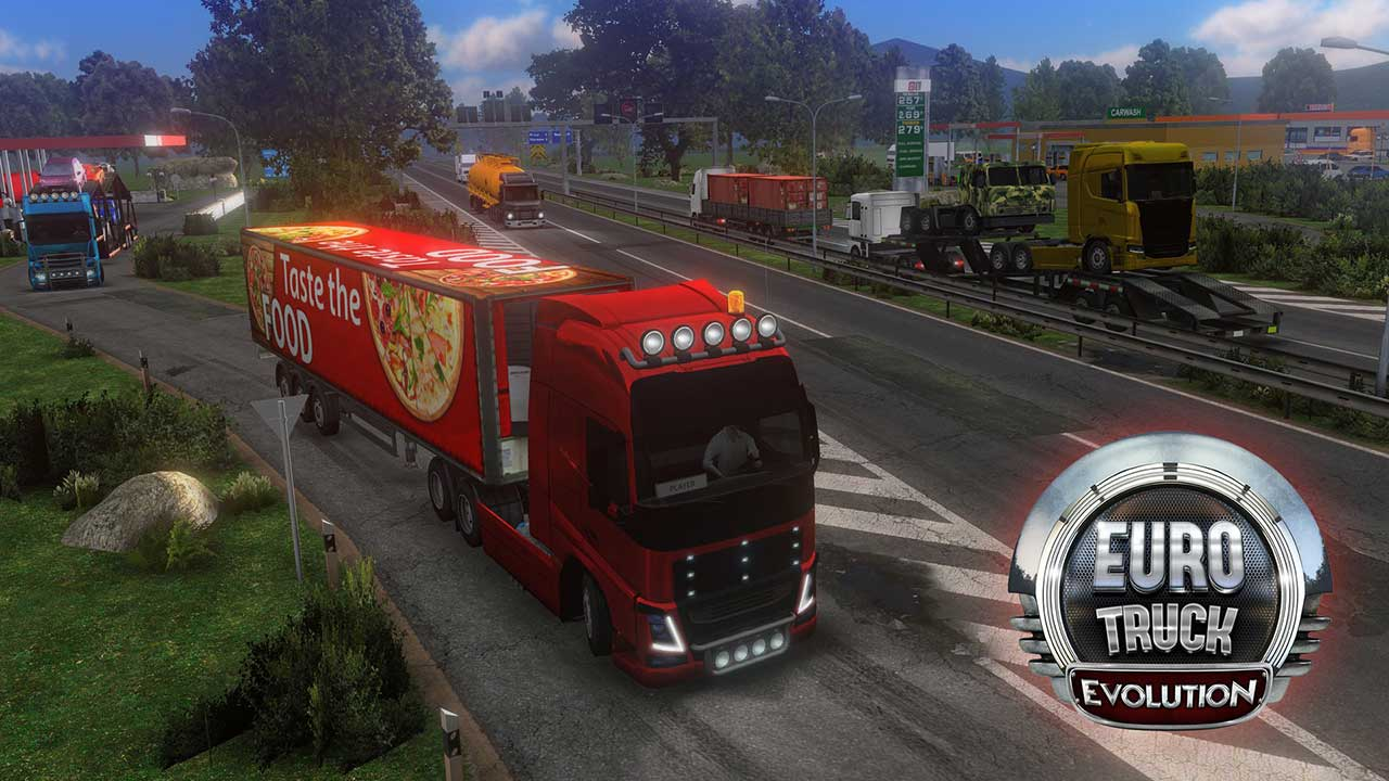 Game Euro Truck Evolution Cover