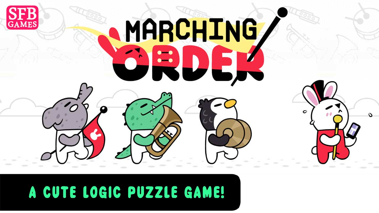 Game Marching Order Cover