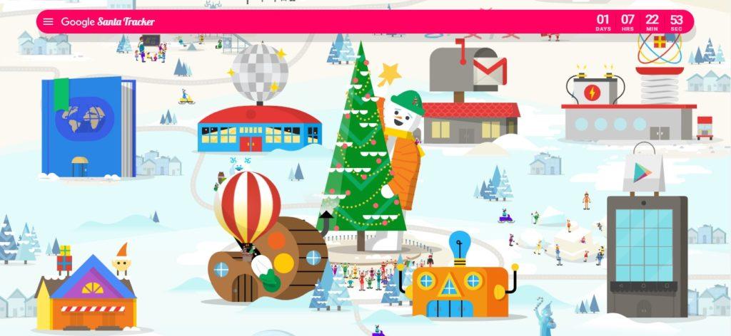 Google Maps Santa Cluas Is Coming Tracking 5